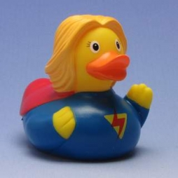 Patito de baño Superwoman